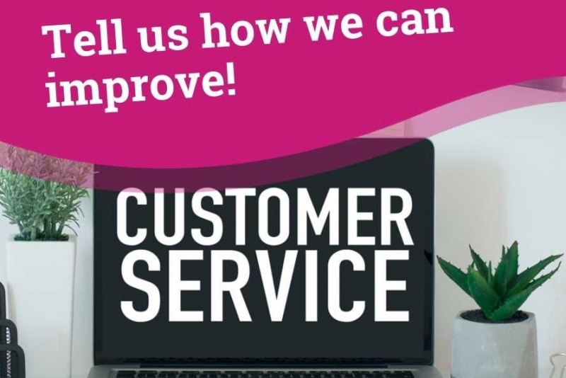 Complete our customer service survey
