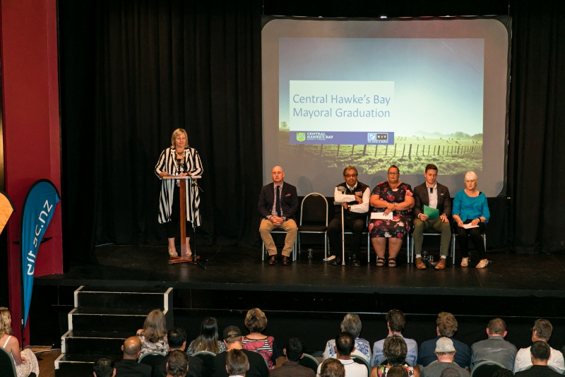 Local Learners Celebrated at Central Hawke's Bay Mayoral Graduation Ceremony