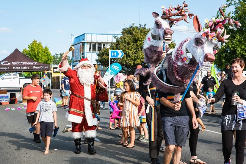 Central Hawke's Bay enjoy the festive season at the 2020 Community Christmas Celebration