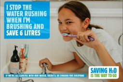 HBW0001 Water campaign Brushing Teeth