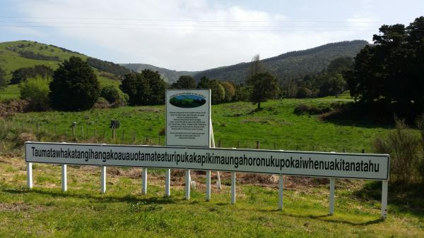 The Longest Place Name In The World Central Hawke 39 S Bay